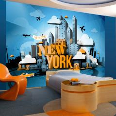 Fototapeta New York welcome