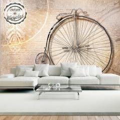 Fototapeta Vintage bicycles sepia