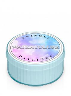 Kringle candle - watercolors - świeczka zapachowa - daylight (35g)