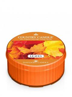 Country candle - leaves - daylight (35g)