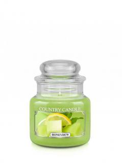 Country candle - honeydew - mały słoik (104g)