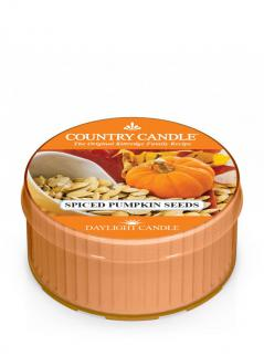 Country candle - spiced pumpkin seeds - daylight (35g)