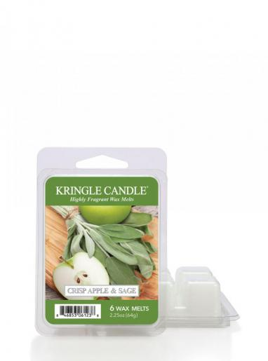 Kringle candle - crisp apple & sage - wosk zapachowy potpourri (64g)