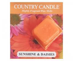 Country candle - sunshine & daisies - próbka (ok. 10,6g)