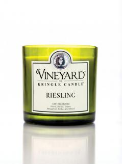 Kringle candle - riesling - tumbler (1700g) z 4 knotami