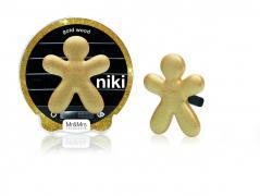 Mr & mrs fragrance - zapach do samochodu - niki - gold wood