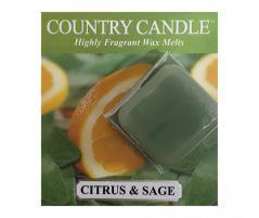 Country candle - citrus and sage - próbka (ok. 10,6g)