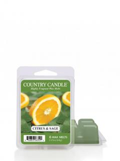 Country candle - citrus and sage - wosk zapachowy potpourri (64g)