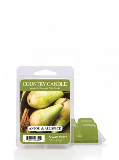 Country candle - anjou & allspice - wosk zapachowy potpourri (64g)