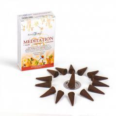 Kadzidełko indyjskie stożkowe - medytacja