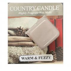 Country candle - warm and fuzzy - próbka (ok. 10,6g)