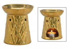 Kominek do wosków: złoty