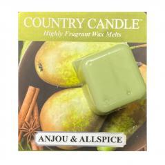 Country candle - anjou & allspice - próbka (ok. 10,6g)