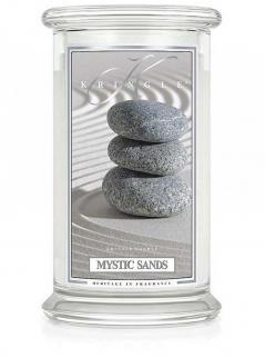 Kringle candle - mystic sands - duży, klasyczny słoik (623g) z 2 knotami