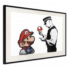 Plakat - Banksy: Mario and Copper