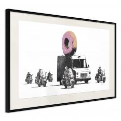 Plakat - Banksy: Donuts (Strawberry)