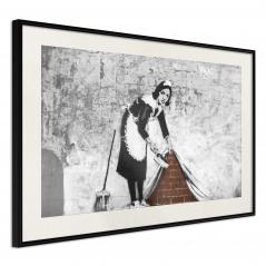 Plakat - Banksy: Sweep it Under the Carpet