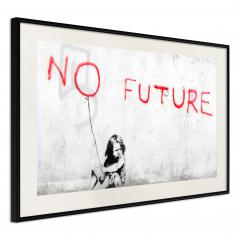 Plakat - Banksy: No Future