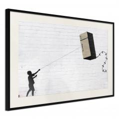Plakat - Banksy: Fridge Kite