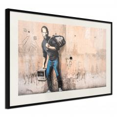 Plakat - Banksy: The Son of a Migrant from Syria