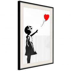 Plakat - Banksy: Love is in the Bin