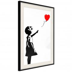 Plakat - Banksy: Girl with Balloon I