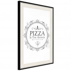 Plakat - Pizza