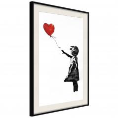 Plakat - Banksy: Girl with Balloon II