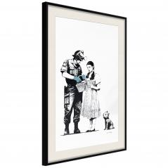 Plakat - Banksy: Stop and Search