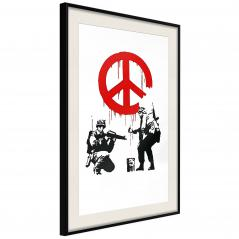 Plakat - Banksy: CND Soldiers I