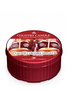 Country candle - salted caramel apple - daylight (35g)
