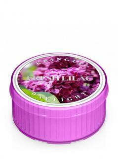 Kringle candle - fresh lilac - świeczka zapachowa - daylight (35g)