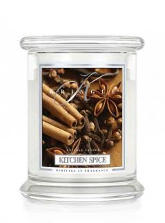 Kringle candle - kitchen spice - średni, klasyczny słoik (411g) z 2 knotami