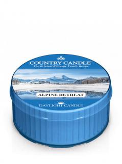 Country candle - alpine retreat - daylight (42g)