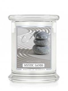 Kringle candle - mystic sands - średni, klasyczny słoik (411g) z 2 knotami