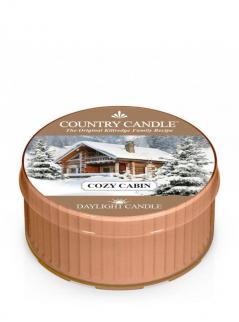Country candle - cozy cabin - daylight (35g)