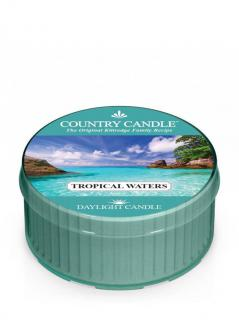 Country candle - tropical waters - daylight (35g)