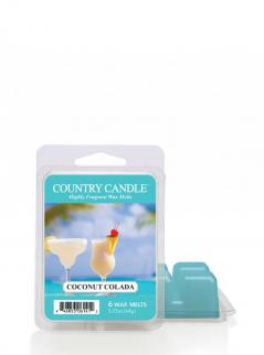 Country candle - coconut colada - wosk zapachowy potpourri (64g)