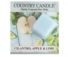 Country candle - cilantro, apple & lime - próbka (ok. 10,6g)