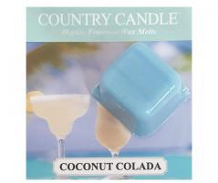 Country candle - coconut colada - próbka (ok. 10,6g)