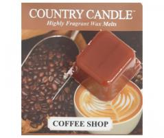 Country candle - coffee shop - próbka (ok. 10,6g)