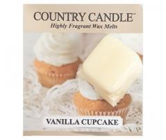 Country candle - vanilla cupcake - próbka (ok. 10,6g)