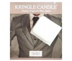 Kringle candle - grey - próbka (ok. 10,6g)