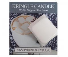 Kringle candle - cashmere & cocoa - próbka (ok. 10,6g)
