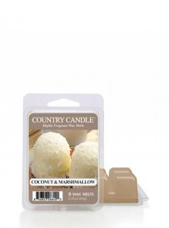 Country candle - coconut marshmallow - wosk zapachowy potpourri (64g)