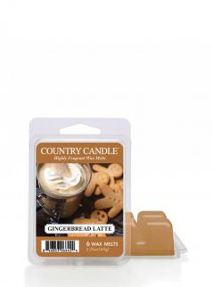 Country candle - gingerbread latte  - wosk zapachowy potpourri (64g)