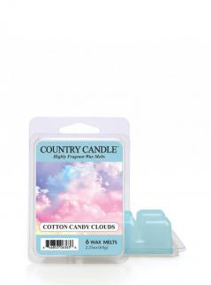 Country candle - cotton candy clouds - wosk zapachowy potpourri (64g)