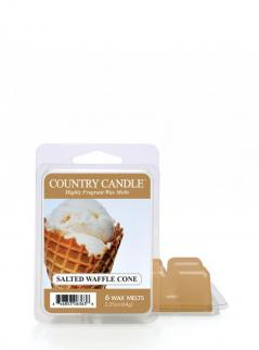 Country candle - salted waffle cone - wosk zapachowy potpourri (64g)