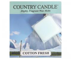 Country candle - cotton fresh - próbka (ok. 10,6g)
