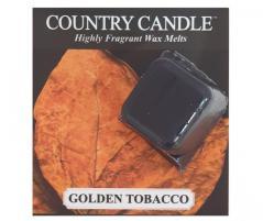 Country candle - golden tobacco - próbka (ok. 10,6g)